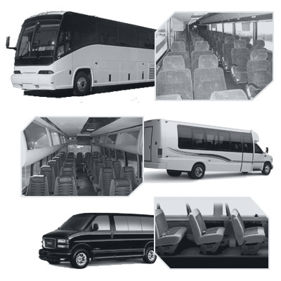 Las Vegas Coach Bus rental